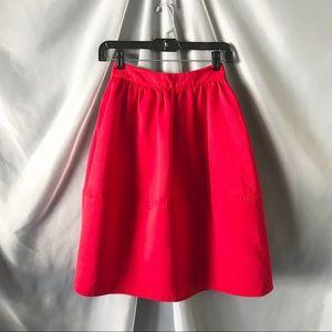 Express high waisted a-line skirt w/ pockets- 00